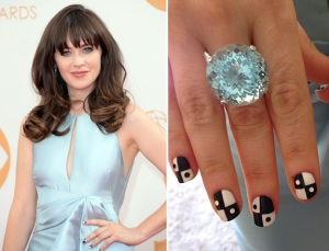 zooey-deschanel-emmy-nails